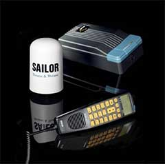 Iridium Fixed Mount Unit Sailor Sc4000 Communication