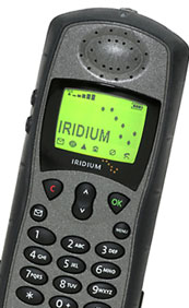 Iridium 9505a closeup view