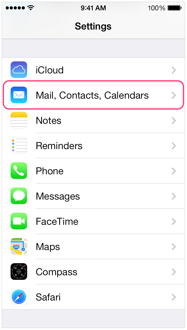 Configuring Email On Iphone/Ipad.app (IOS)